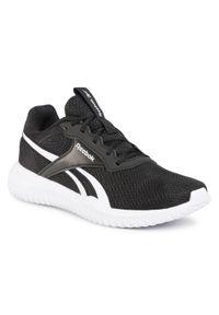Czarne buty do fitnessu Reebok z cholewką, na co dzień