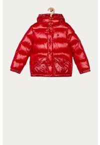 Czerwona kurtka Polo Ralph Lauren na co dzień, polo, casualowa
