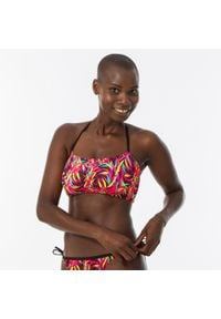 OLAIAN - Góra kostiumu kąpielowego LORI TOBI DIVA damska. Kolor: różowy. Materiał: poliester, elastan, poliamid, materiał
