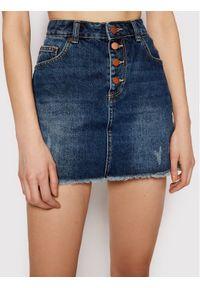 Niebieska spódnica jeansowa Roxy