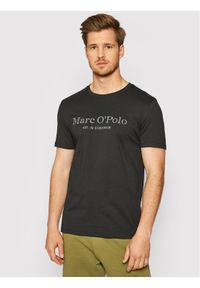 Marc O'Polo T-Shirt 122 2220 51352 Czarny Regular Fit. Typ kołnierza: polo. Kolor: czarny