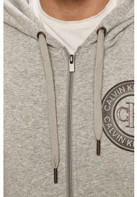 Calvin Klein Underwear - Bluza piżamowa. Kolor: szary. Długość: długie