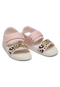 Różowe sandały Puma