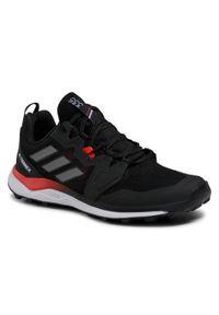 Adidas - Buty adidas - Terrex Agravic FX6859 Cblack/Grefou/Solred. Zapięcie: sznurówki. Kolor: czarny. Materiał: materiał. Szerokość cholewki: normalna. Model: Adidas Terrex. Sport: fitness