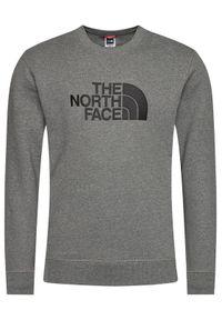 The North Face Bluza Drew Peak Crew NF0A4SVRGVD1 Szary Regular Fit. Kolor: szary