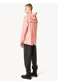 Rains Kurtka przeciwdeszczowa Unisex 1201 Różowy Regular Fit. Kolor: różowy