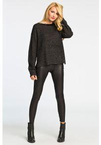 Czarne legginsy Pieces