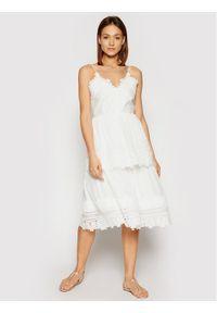 Marella Sukienka codzienna Pelago 32210312 Biały Regular Fit. Okazja: na co dzień. Kolor: biały. Typ sukienki: proste. Styl: casual