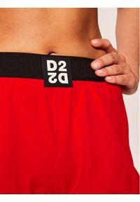 Dsquared2 Underwear Szorty piżamowe D8NA02980 Czerwony