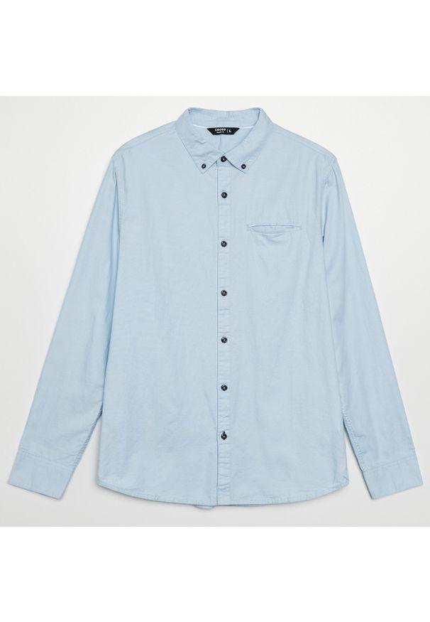 Niebieska koszula Cropp