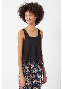Czarna piżama Etam