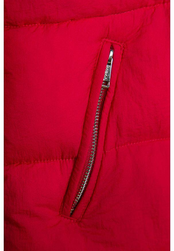 Wielokolorowa kurtka Guess Jeans casualowa, na co dzień, z kapturem