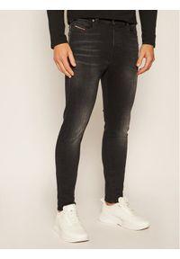 Czarne jeansy Diesel