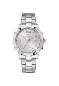 Srebrny zegarek Trussardi Jeans