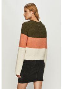 Noisy may - Noisy May - Sweter. Kolor: zielony. Długość rękawa: raglanowy rękaw