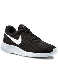 Czarne półbuty Nike casualowe, na co dzień, z cholewką