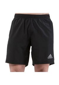 Adidas - adidas Own The Run Shorts > FS9807. Materiał: dzianina, materiał, poliester. Długość: długie. Sport: bieganie