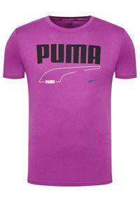 Fioletowy t-shirt Puma