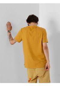 outhorn - T-shirt z nadrukiem męski. Okazja: na co dzień. Materiał: bawełna, dzianina, materiał. Wzór: nadruk. Styl: casual #4