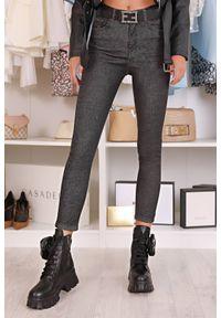 Szare jeansy IVET casualowe, na co dzień