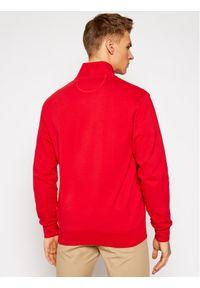 La Martina Bluza RMF006 FP522 Czerwony Regular Fit. Kolor: czerwony