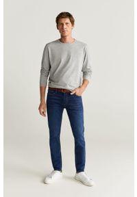 Morskie jeansy Mango Man w kolorowe wzory