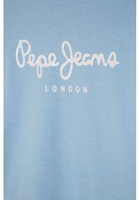 Bluza Pepe Jeans bez kaptura, z nadrukiem