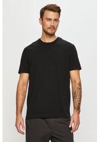 Czarny t-shirt AllSaints