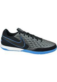 Czarne halówki Nike w kolorowe wzory, z cholewką