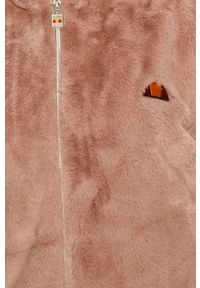 Różowa kurtka Ellesse z kapturem