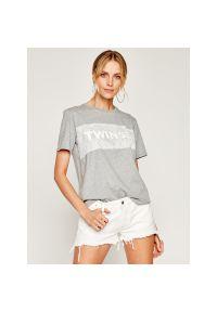 T-Shirt TwinSet 201TP209A. Kolor: szary