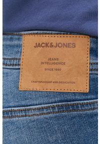 Jack & Jones - Jeansy Tim. Kolor: niebieski