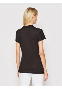 Czarna koszulka polo TOMMY HILFIGER polo