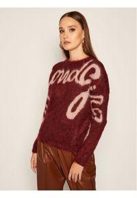 Czerwony sweter klasyczny iBlues
