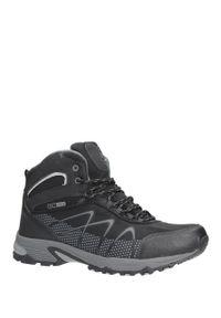 Czarne buty trekkingowe Casu