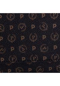 Czarna torebka Pollini skórzana