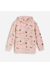 Różowa bluza Reserved