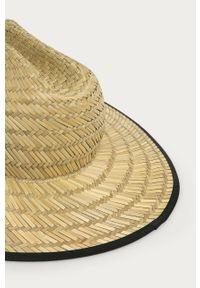 Beżowy kapelusz Billabong gładki