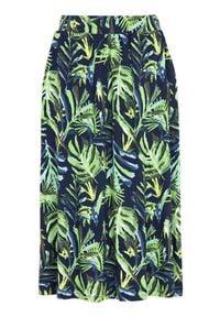 Cellbes Dżersejowa spódnica z kieszeniami niebieski we wzory female niebieski/ze wzorem 38/40. Kolor: niebieski. Materiał: jersey