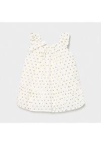Mayoral Sukienka codzienna 1979 Biały Regular Fit. Okazja: na co dzień. Kolor: biały. Typ sukienki: proste. Styl: casual #4