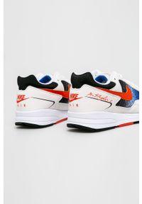 Białe sneakersy Nike z okrągłym noskiem, z cholewką, na sznurówki, trekkingowe #4
