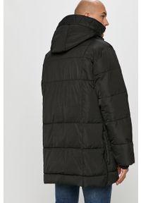 Czarna kurtka DKNY casualowa, z kapturem