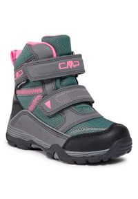 Zielone buty zimowe CMP na spacer
