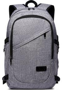 Szary plecak na laptopa Kono
