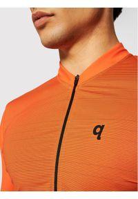 Quest Koszulka rowerowa Adventure Pomarańczowy Race Fit. Kolor: pomarańczowy