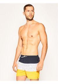 Pepe Jeans Szorty kąpielowe Erik PMB10241 Żółty Regular Fit. Kolor: żółty