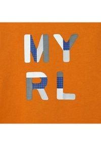 Mayoral Bluzka 108 Pomarańczowy Regular Fit. Kolor: pomarańczowy