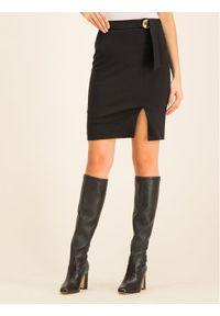Czarna spódnica mini Cavalli Class