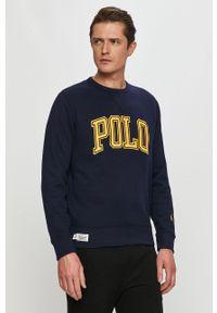 Niebieska bluza nierozpinana Polo Ralph Lauren polo, na co dzień