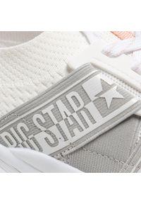 Big-Star - Sneakersy BIG STAR - HH274355 White. Kolor: biały. Materiał: materiał. Szerokość cholewki: normalna. Obcas: na płaskiej podeszwie